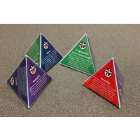 Uniting Church Inter-Related Councils Pyramids - 14cm