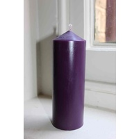 Purple Candles 150mm x 54mm