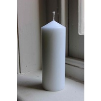White Candles 150mm x 54mm