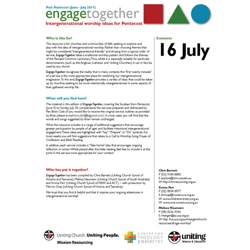 Engage Together July 16