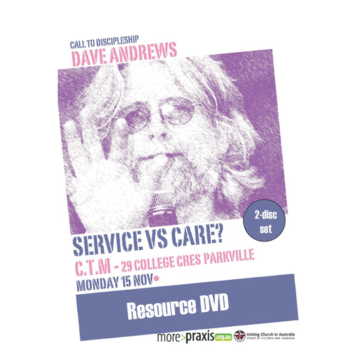 Call to Discipleship - Dave Andrews DVD