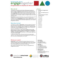 Pentecost engagetogether - Intergenerational worship ideas