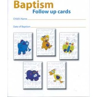 Baptism Follow up Cards