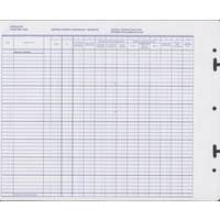 Receipts Transaction sheets